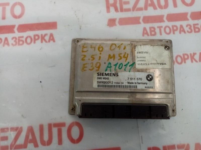 Блок управления двигателем BMW 5-Series E39 7511570 Б/У