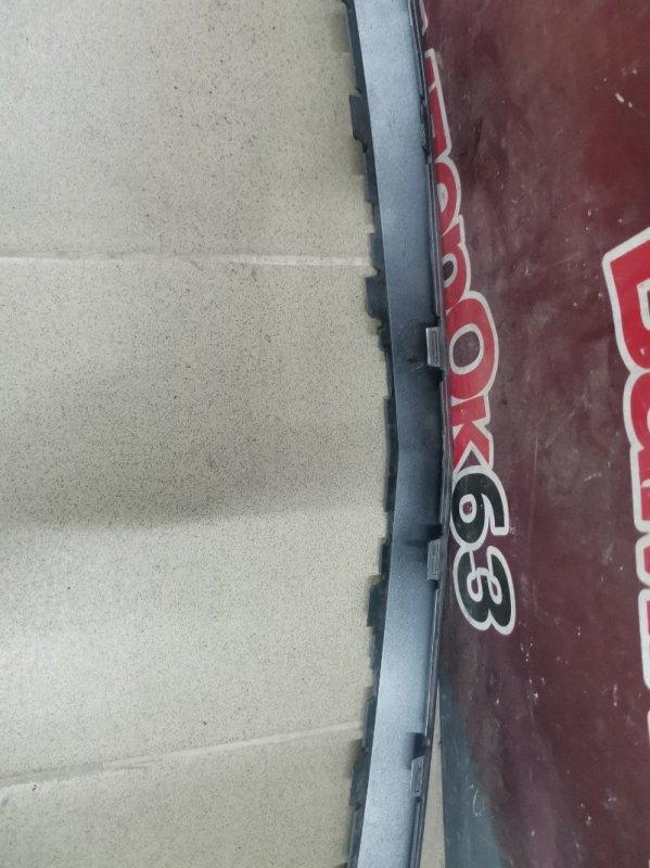 Накладка на бампер задняя XT5 2016