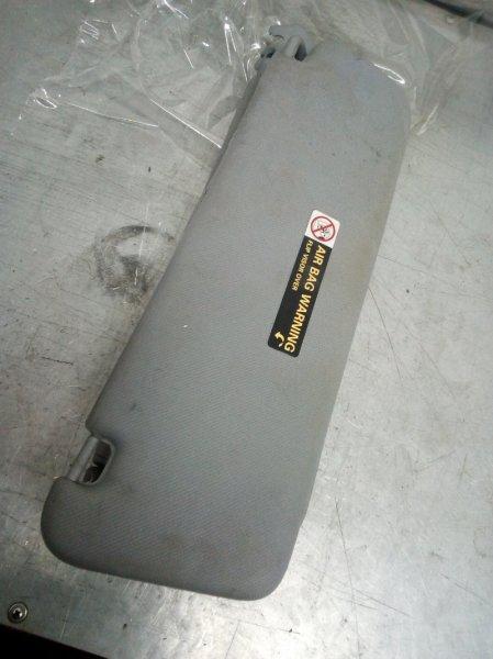 Козырек солнцезащитный передний левый Porsche Cayenne 2003-2010 955731136026L2 Б/У