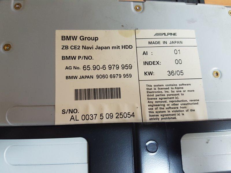 Блок навигации Bmw 5-Series E60 N52B30 2005