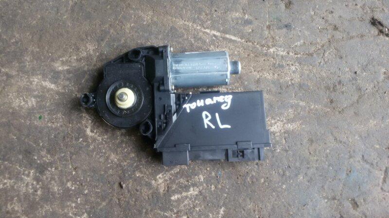 Мотор стеклоподъмника Volkswagen Touareg 7LA AZZ 2004 задний левый