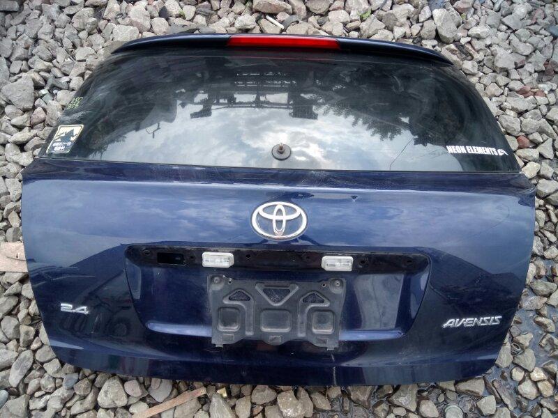 Дверь задняя багажника Toyota Avensis AZT250 2AZ-FSE 2008
