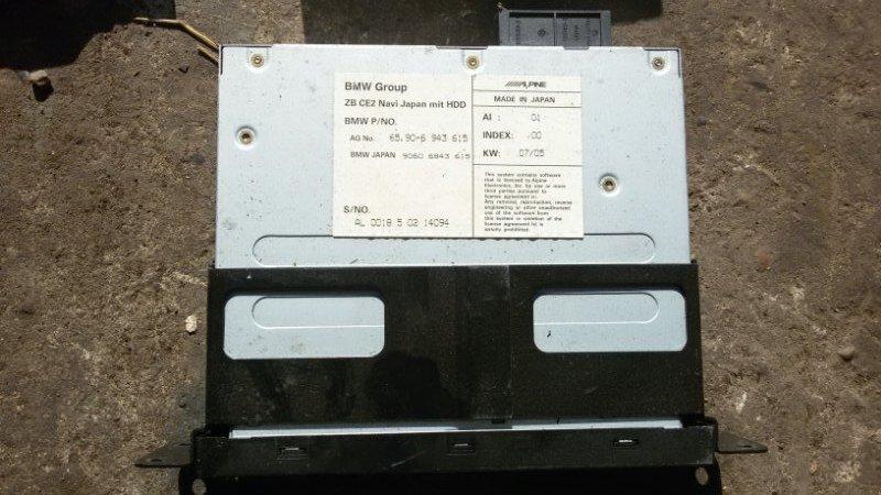 Блок навигации Bmw 5-Series E60 N52B30 2006