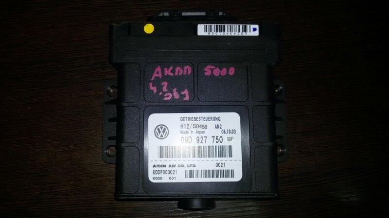 Блок управления кпп Volkswagen Touareg 7L6 4.2 AXQ 2005