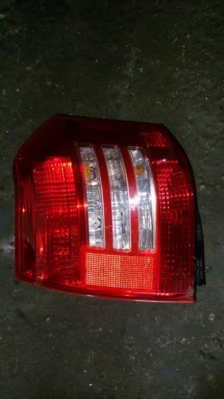 Фонарь стоп-сигнала Toyota Allex NZE121 1NZ-FE 2003 левый