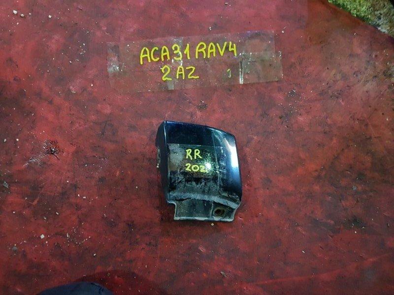 Расширитель колесных арок Toyota Rav 4 ACA31 2AZ-FE 2007 задний правый