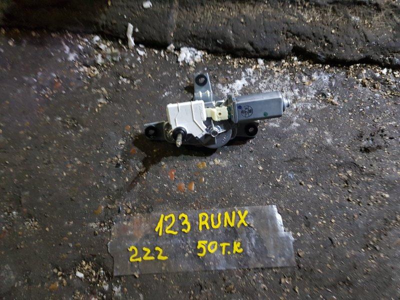 Мотор заднего дворника Toyota Corolla Runx ZZE123 2ZZ-GE 2001