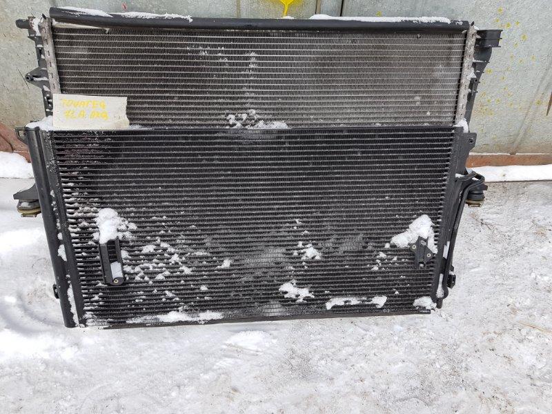 Радиатор кондиционера Volkswagen Touareg 7L6 4.2 AXQ 2005