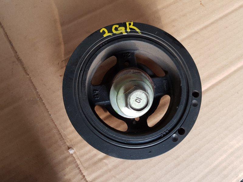 Шкив коленвала Toyota Camry GSV40L 2GR-FE 2008