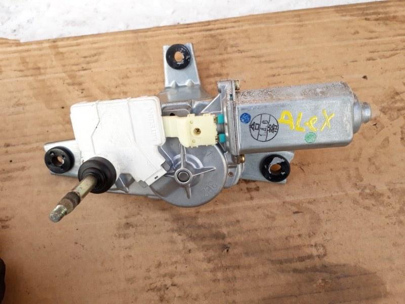 Мотор заднего дворника Toyota Allex NZE121 1NZ-FE 2001