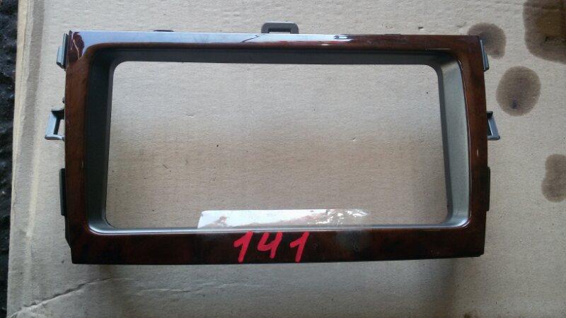 Обводка магнитолы Toyota Corolla Fielder NZE141 1NZ-FE 2007