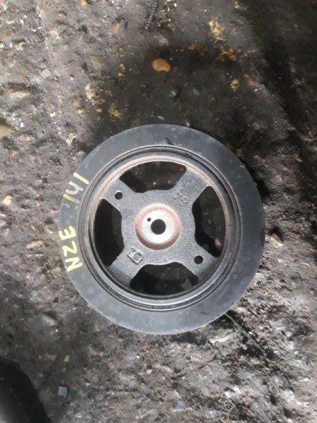 Шкив коленвала Toyota Corolla Fielder NZE141 1NZ-FE 2009