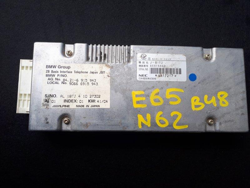 Блок управления телефоном Bmw 7-Series E65 N62B48 2007