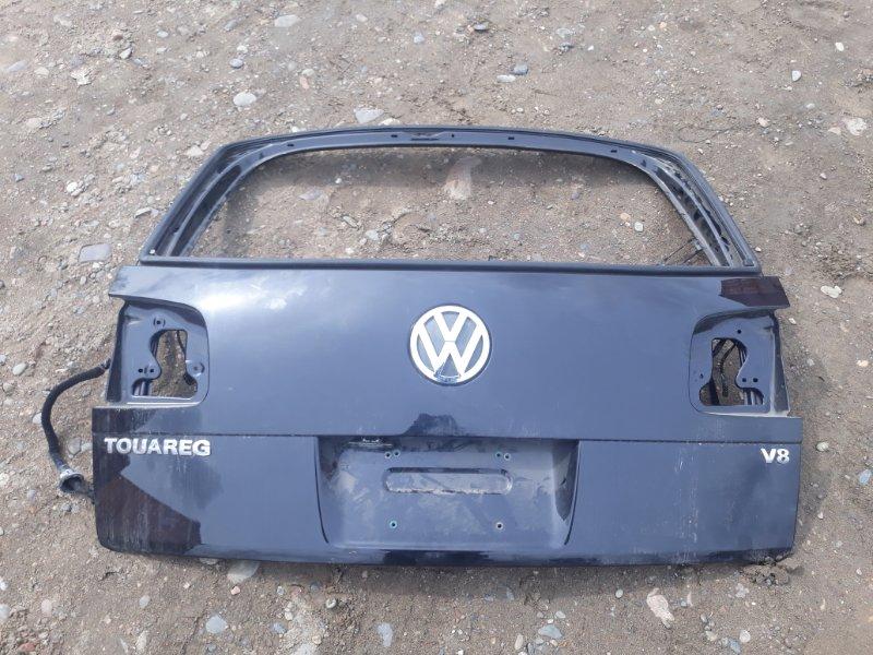 Дверь задняя багажника Volkswagen Touareg 7L6 4.2 AXQ 2005