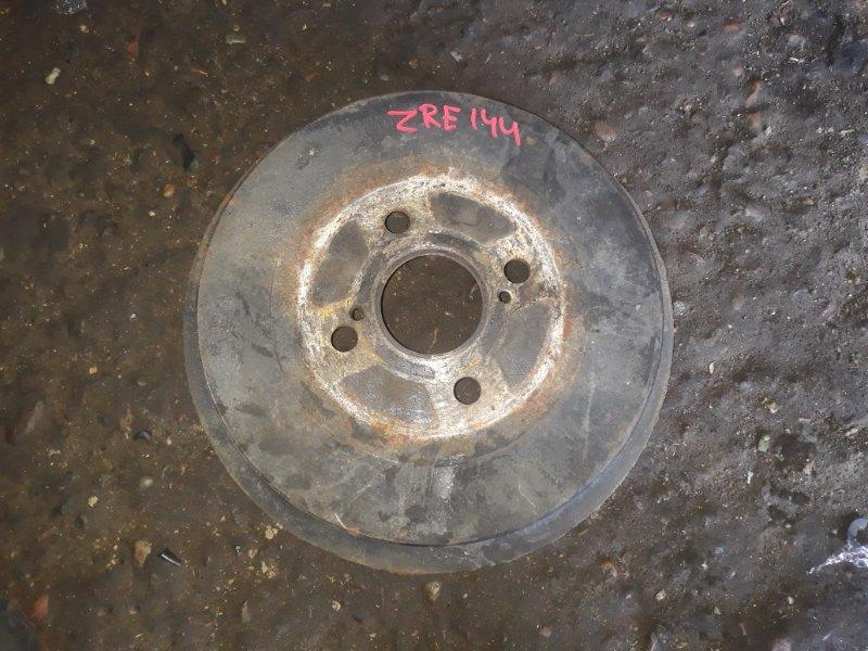 Барабан тормозной Toyota Corolla Fielder ZRE144 2ZR-FE 2008 задний