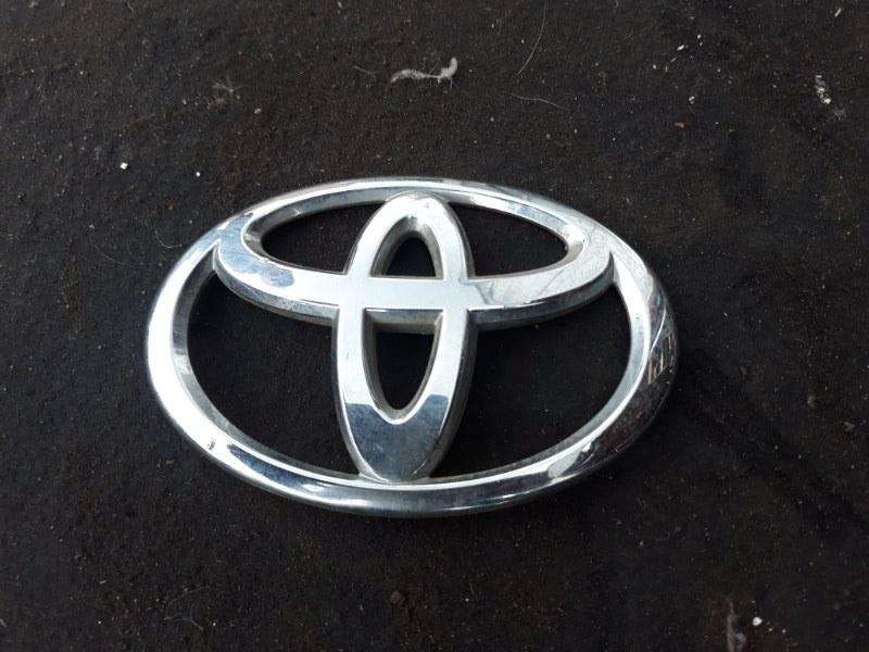 Эмблема Toyota Corolla Fielder ZRE142 2ZR-FE 2009