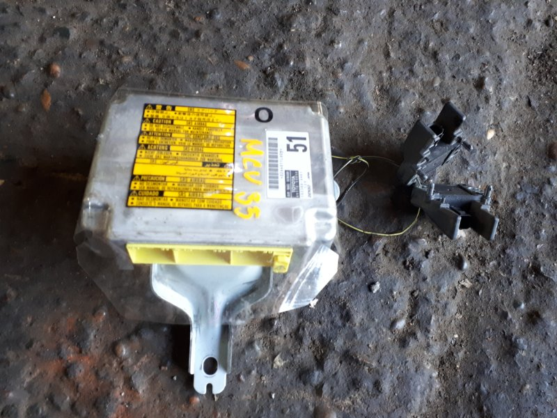 Блок управления air bag Toyota Harrier MCU35 1MZ-FE 2005