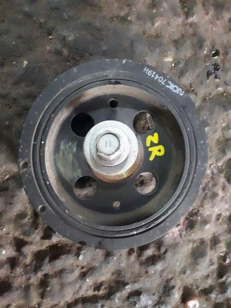 Шкив коленвала Toyota Corolla Fielder ZRE142 2ZR-FE 2009