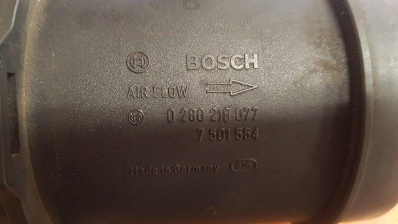 Датчик расхода воздуха Bmw 7-Series E65 N62B48 2007