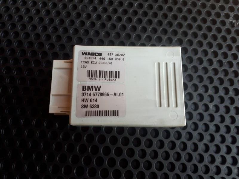 Блок управления подвеской Bmw X5-Series E70 N52B30 2008