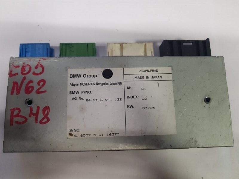 Блок навигации Bmw 7-Series E65 N62B48 2007