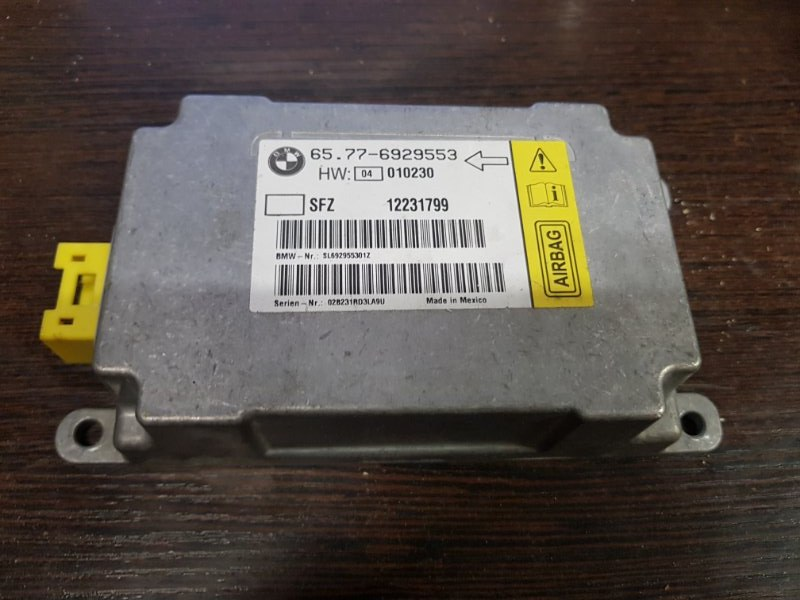 Датчик srs Bmw 7-Series E65 N62B48 2007
