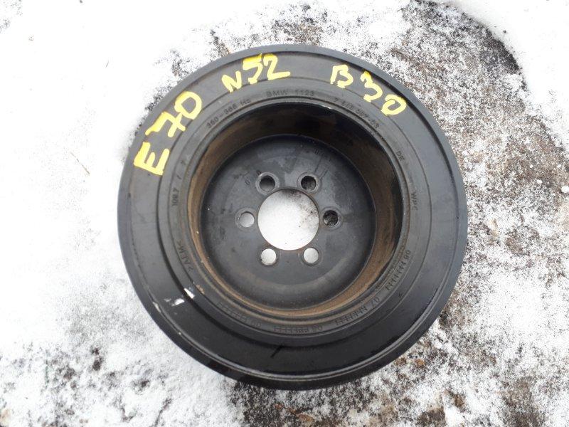 Шкив коленвала Bmw X5-Series E70 N52B30 2007