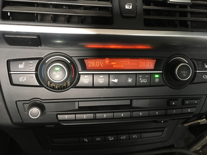 Блок управления климат-контролем Bmw X5-Series E70 N52B30 2007