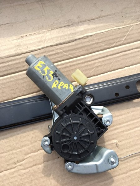 Мотор стеклоподъмника Bmw X5-Series E53 M54B30 2002 задний