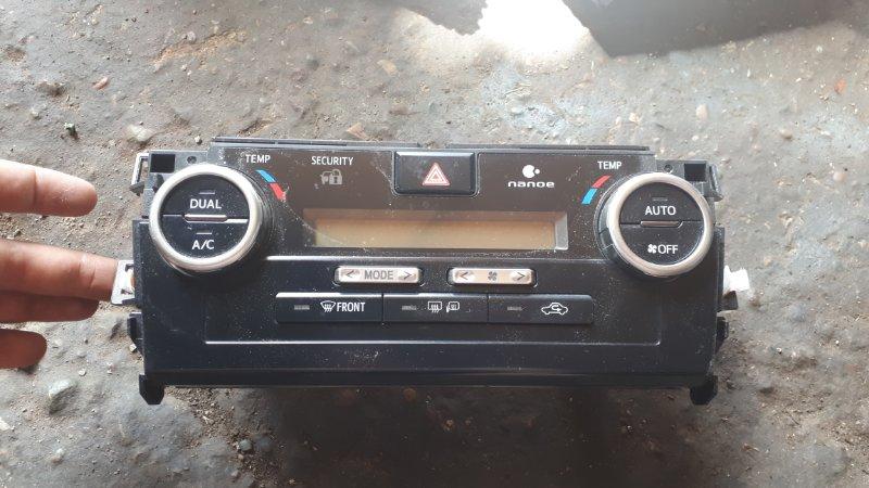Блок управления климат-контролем Toyota Camry AVV50 2AR-FXE 2013