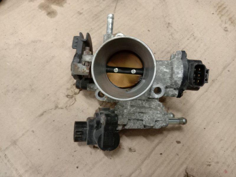 Заслонка дроссельная Toyota Probox NCP55 1NZ-FE 2006