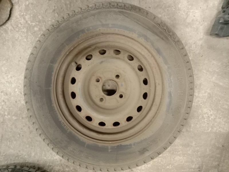 Запасное колесо Toyota Probox NCP51 1NZ-FE 2005