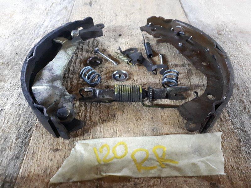 Механизм ручника Toyota Corolla Fielder NZE121 1NZ-FE 2003 левый