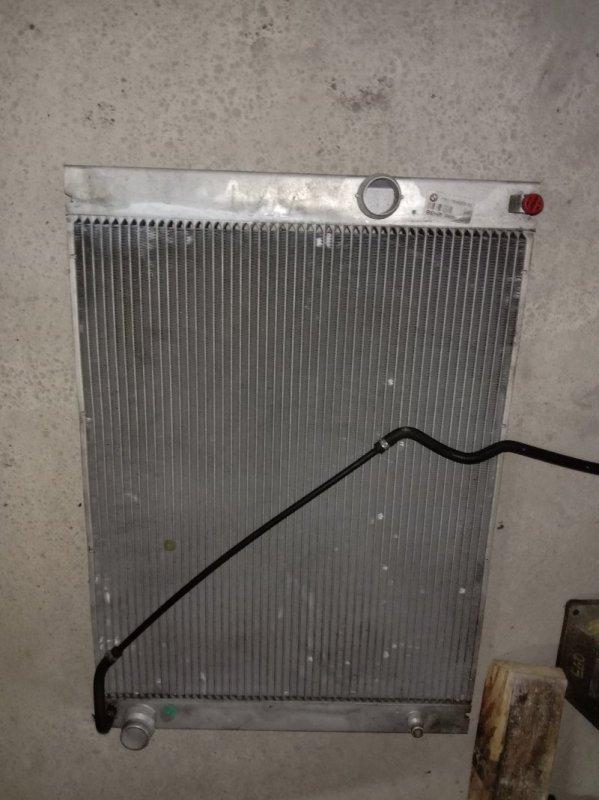 Радиатор двигателя Bmw E60 M54B30 2005