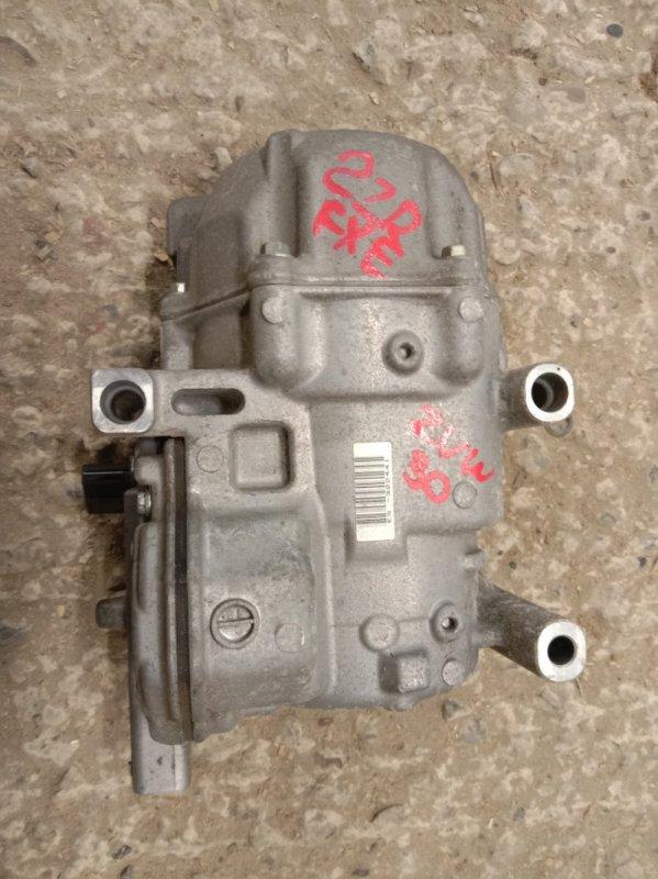 Компрессор кондиционера Toyota Prius ZVW30 2ZR-FXE 2011