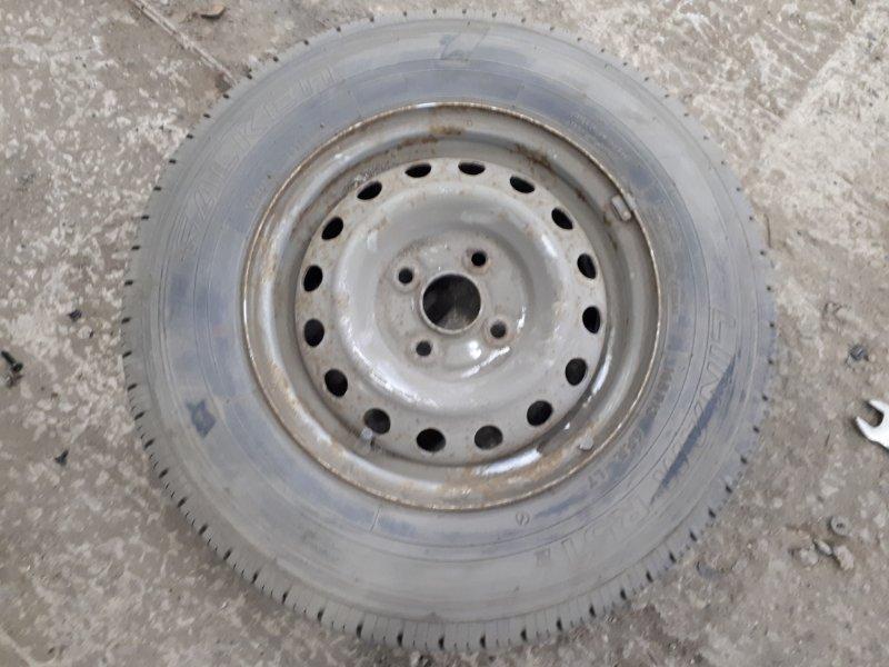 Запасное колесо Toyota Probox NCP55 1NZ-FE 2006