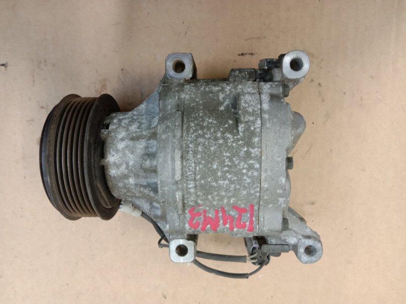 Компрессор кондиционера Toyota Corolla Runx ZZE124 1ZZ-FE 2005