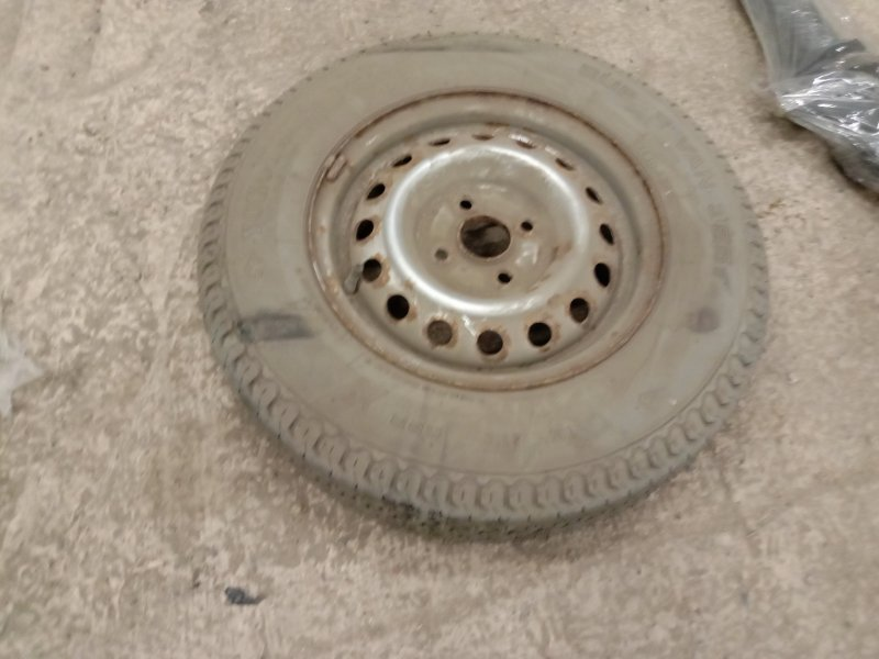 Запасное колесо Toyota Succeed NCP51 1NZ-FE 2005