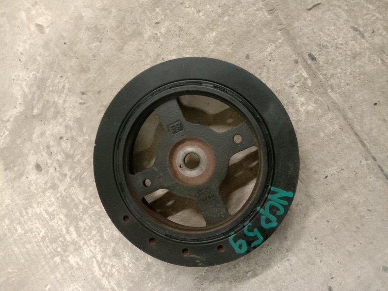 Шкив коленвала Toyota Probox NCP59 1NZ-FE 2004