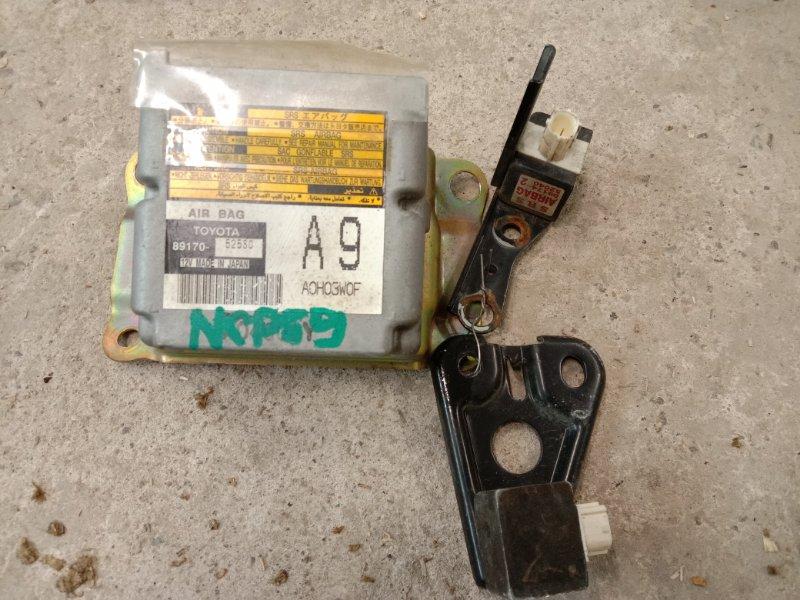 Блок управления air bag Toyota Probox NCP59 1NZ-FE 2004