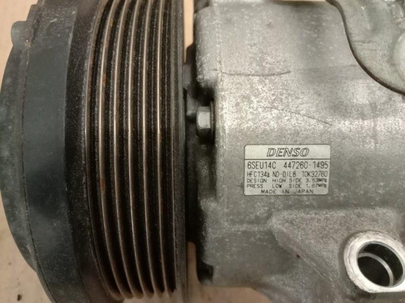 Компрессор кондиционера Toyota Corolla Fielder ZRE142 2ZR-FE 2010