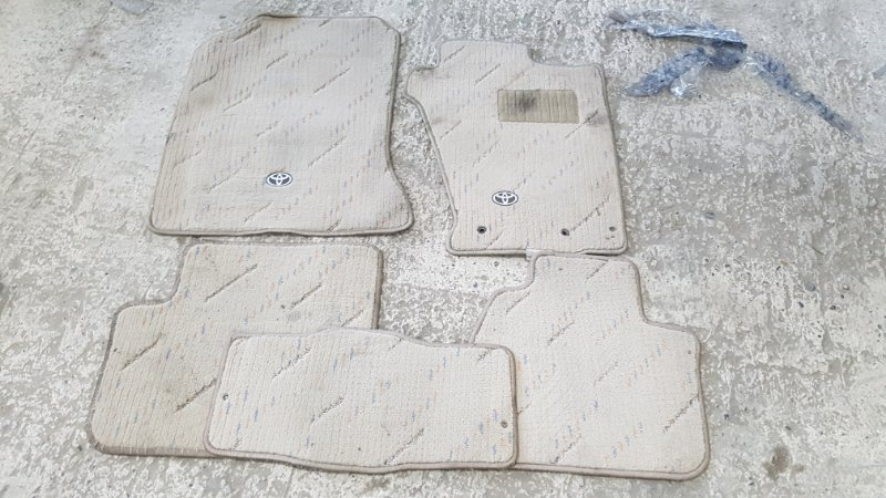 Коврики в салон Toyota Corolla NZE124 1NZ-FE 2003