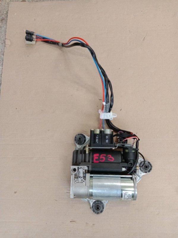 Компрессор подвески Bmw X5 E53 M54B30 2001