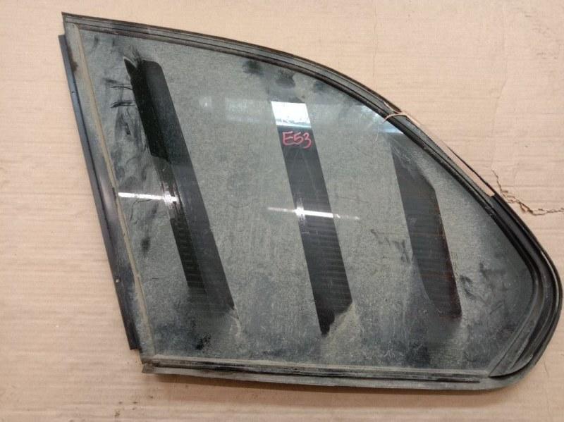 Стекло собачника Bmw X5-Series E53 M54B30 2001 левое