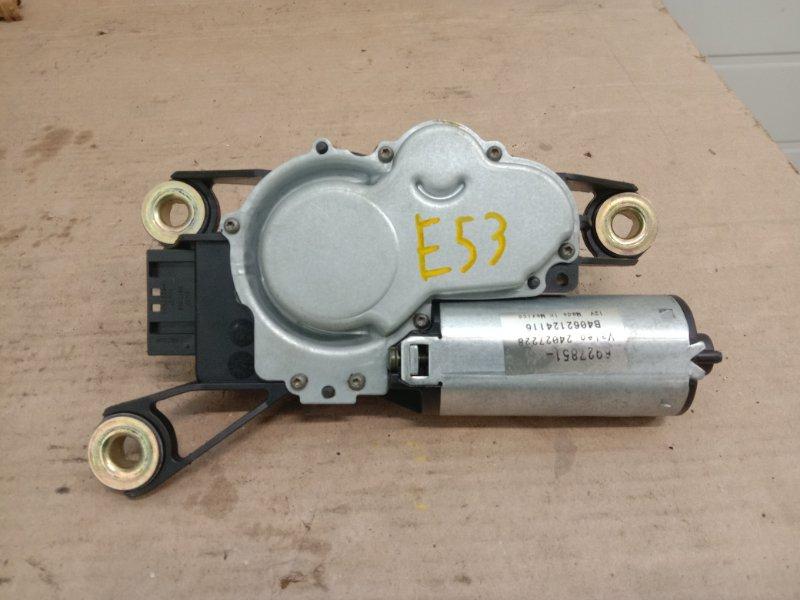 Мотор заднего дворника Bmw X5-Series E53 M54B30 2001