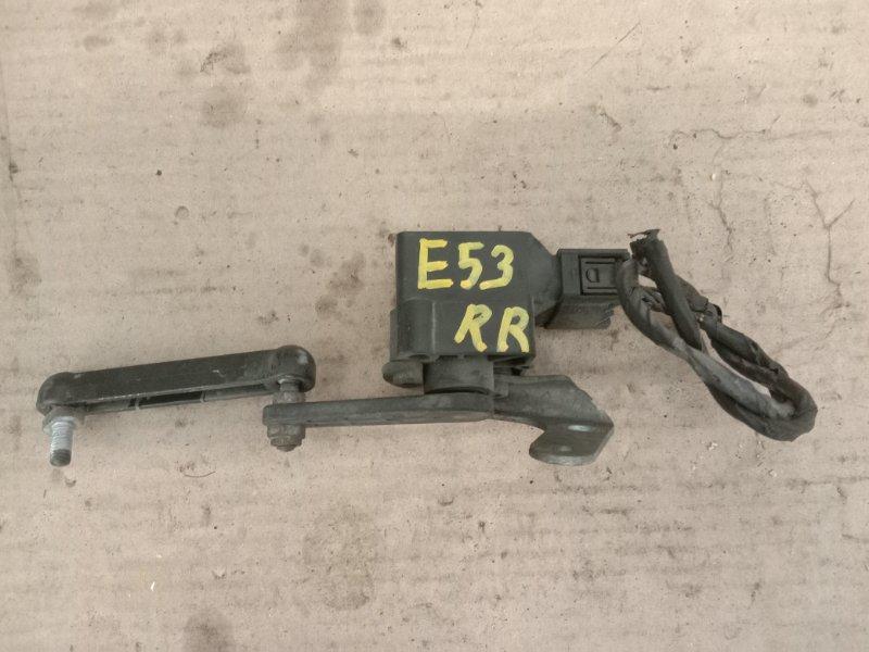 Датчик высоты дорожного просвета Bmw X5-Series E53 M54B30 2001 задний правый