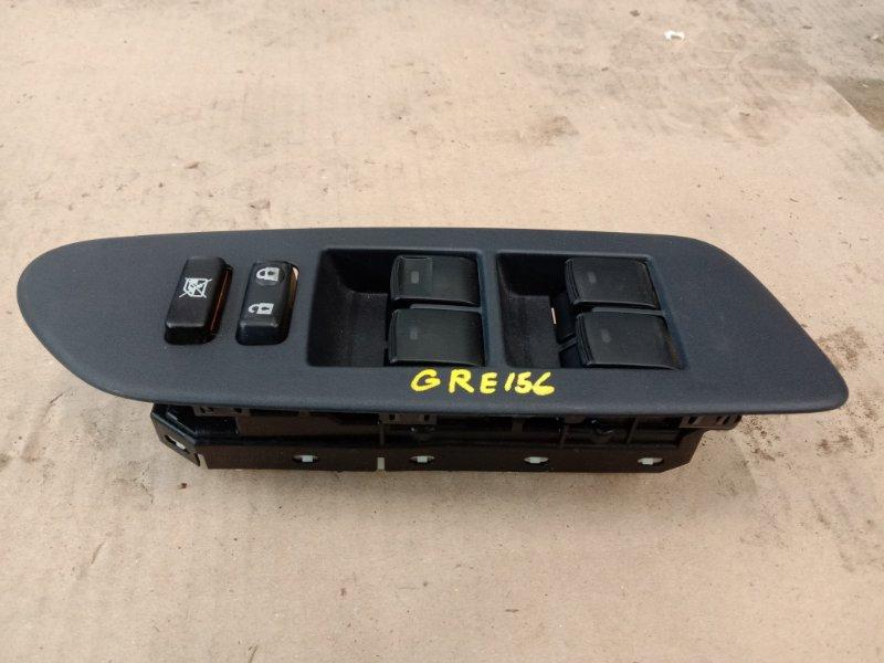 Блок управления стеклоподъемниками Toyota Blade GRE156 2GR-FE 2004 передний правый