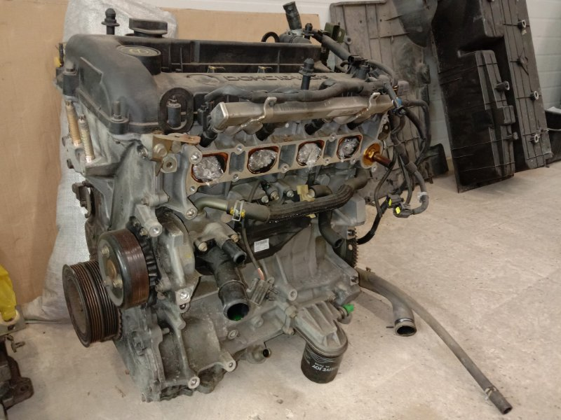 Двигатель Mazda Axela BKEP LF-DE 2005