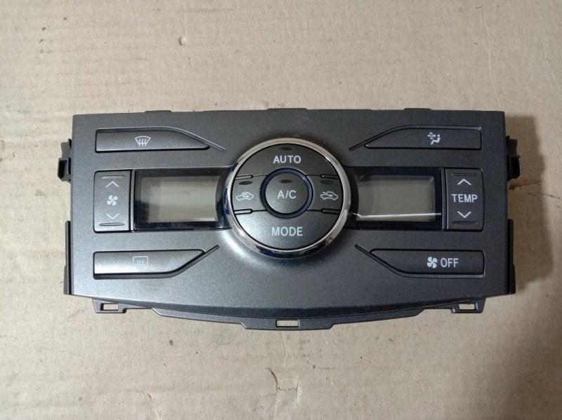 Блок управления климат-контролем Toyota Corolla Axio NZE-144 1NZ-FE 2007