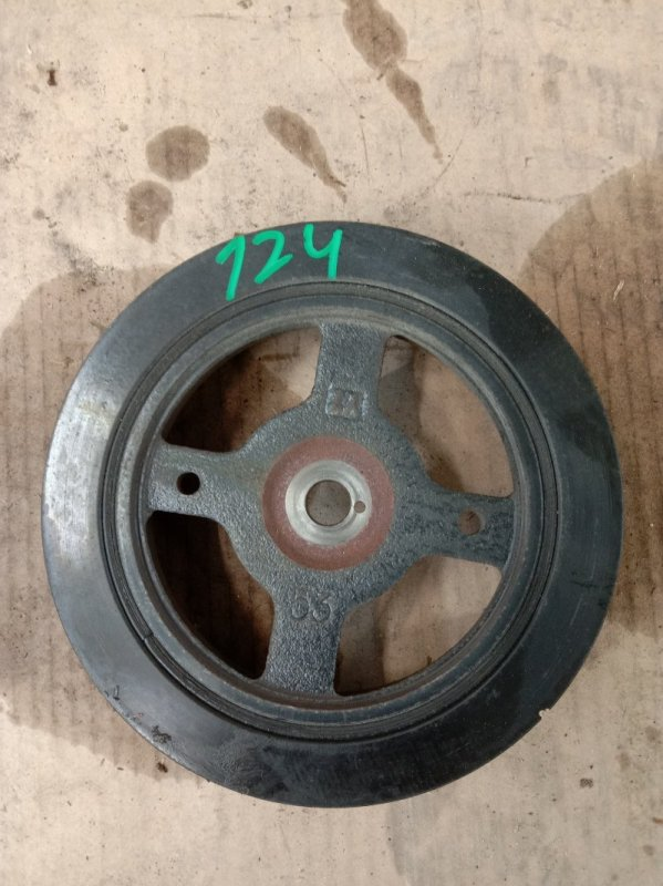 Шкив коленвала Toyota Corolla NZE124 1NZ-FE 2003
